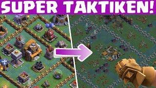 Bauarbeiterbasis - SUPER ANGRIFFSSTRATEGIEN! || Clash of Clans [Deutsch German]