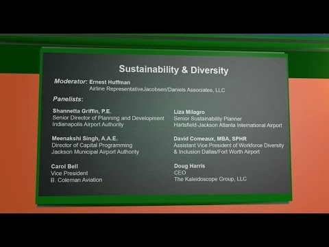 Airports Going Green Conference 2015: Sustainability & Diversity Panel