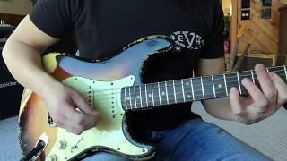 1962 Fender Stratocaster Eddie Vegas www.eddievegas.com
