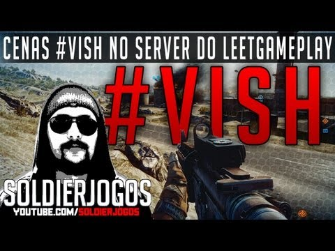 Cenas #VISH no server do LEETGAMEPLAY - Battlefield 3 Kharg Island