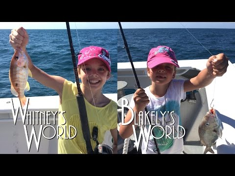 Blakely and Whitney go Fishing! | Blakely Catches a Big One