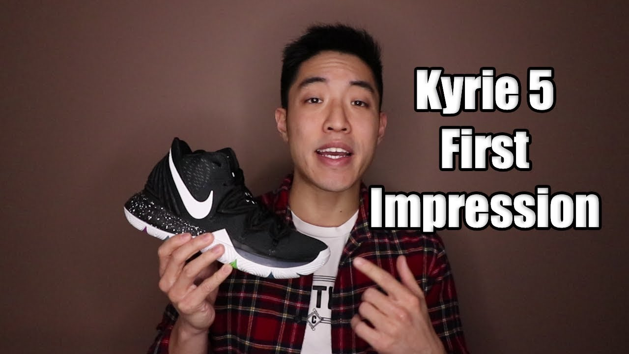 6e8a61b1645d NIKE KYRIE 5 REVIEW   FIRST IMPRESSION - YouTube