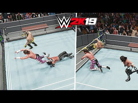 WWE 2K19 Top 10 Amazing Assisted Finishers!!