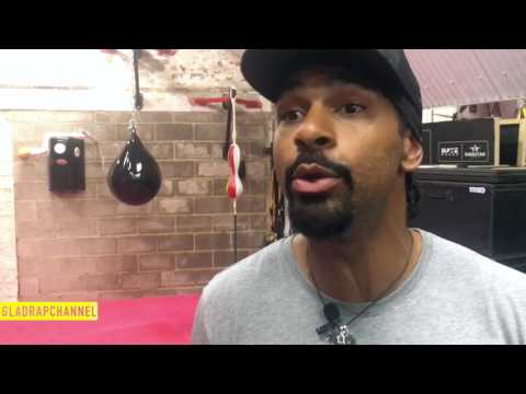 Joseph Parker trains with superstar David Haye