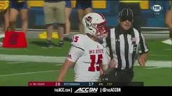 NC State vs Pittsburgh College Football Condensed Game 2017