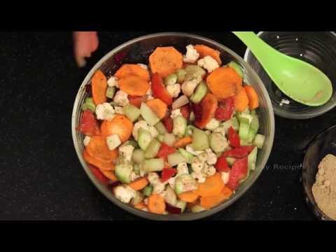 Vegetable Salad - How To Make Vegetable Salad - Easy Recipes