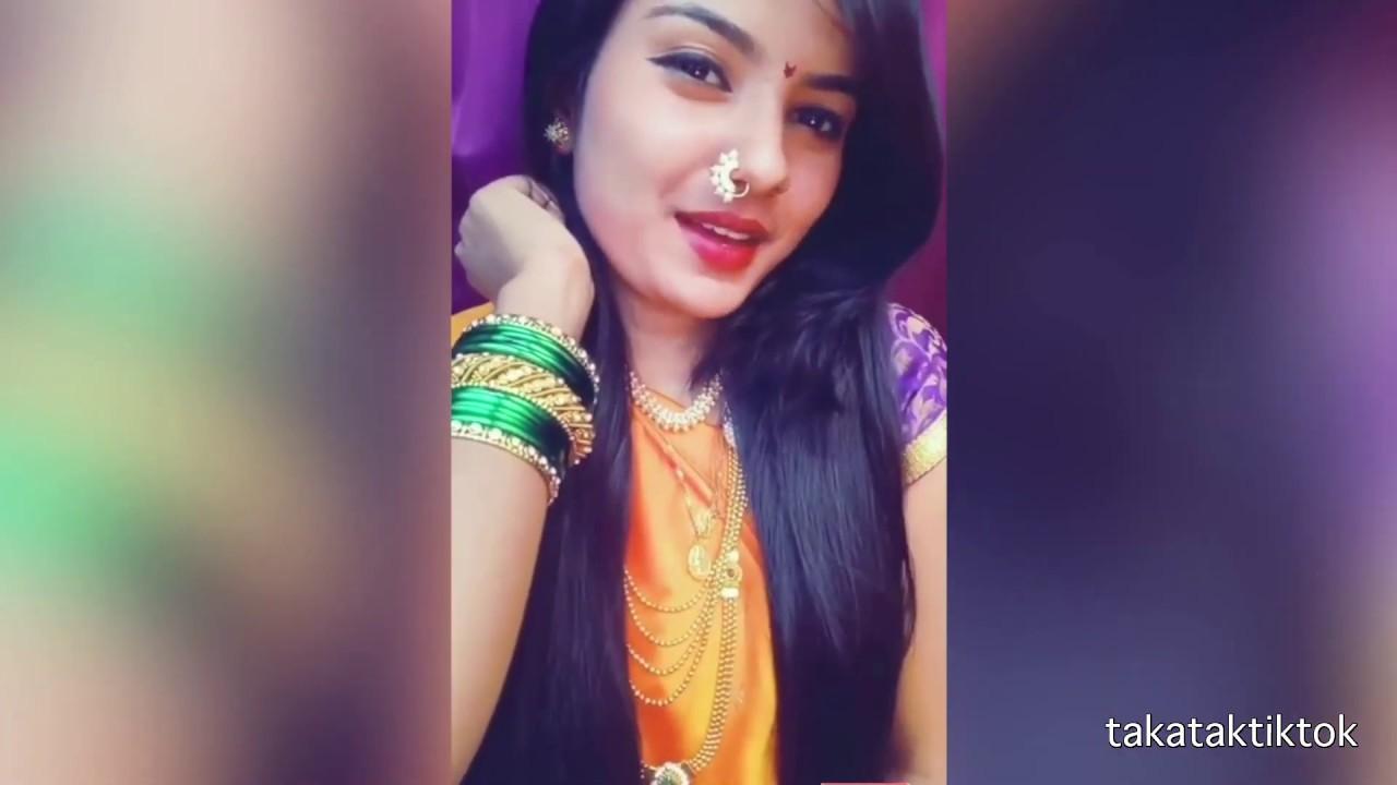 Marathi Hot Bhabhi Tiktok Dance Videos  Marathi Hot