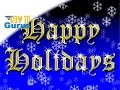How To Make a Quick Gold Text Holiday Card Photoshop Elements Christmas Card Templates