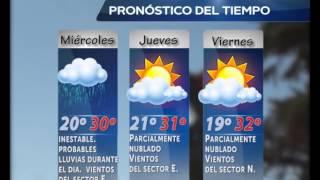 FARMACIAS DE TURNO Y CLIMA MARTES 3 MARZO 2017 Video
