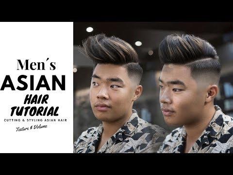 Asian Hair Tutorials | Cutting - Styling Asian Hair.