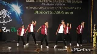 Hip Hop Dance Choreography by Akshay Kulthe | 3rd Prize winner | National Level Dance Competition