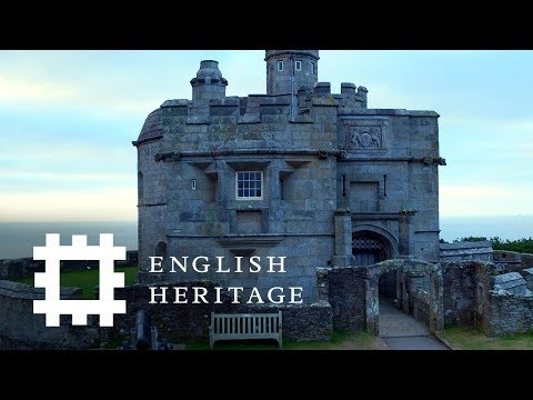 Postcard From Pendennis Castle, Cornwall   England Drone Footage