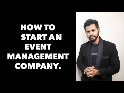 HOW TO START AN EVENT MANAGEMENT COMPANY | HINDI | ANI RAY