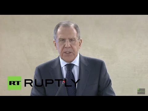 LIVE: Lavrov holds press conference following meeting with Thorbjørn Jagland