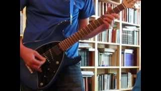 Polyphonic guitar excercise (Endless Waves, Steve Morse)