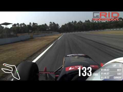 VBox HD testing Asia Formula Renault in Zhuhai