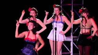 "The Jive Aces & The Satin Dollz live at Viva Las Vegas - ""Beat Me Daddy"""