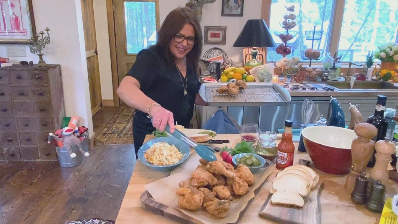 How To Make Spicy Fried Chicken   Rachael Ray