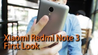 Xiaomi Redmi Note 3 First Look by TechNave.com