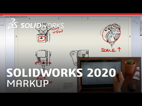 What's New in SOLIDWORKS 2020 - Markup