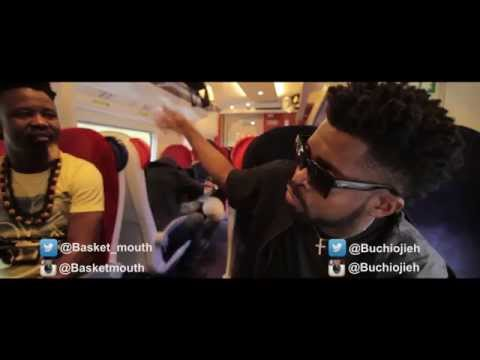 Basketmouth And Buchi Fighting Over Rice In London