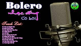 nhạc bolero có lời