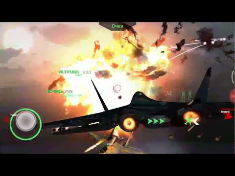 Sukhoi T-50 PAK-FA,Best Android Game Jet Fighter Like Ace Combat!!!
