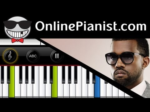 Kanye West ft Rihanna  All Of The Lights  Piano Tutorial