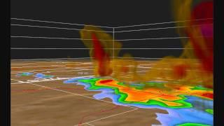 3D Radar   Oakfield WI Tornado   July 1996