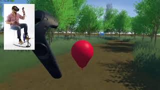 HOVR VR MIT Award Winner foot tracker