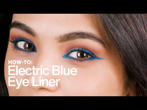 HOW TO: Neon Blue Eye Liner | MAC Cosmetics