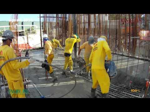 MANHATTAN OFFICE SANTOS |  Andamento de Obras 08/2014