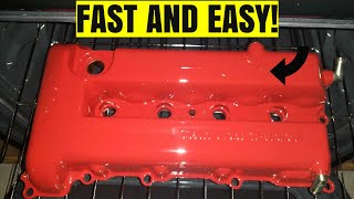 Here Is How I Painted My Valve Cover!