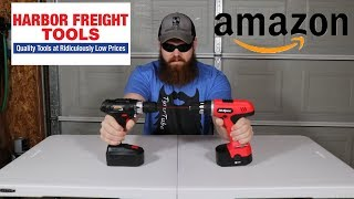 Testing Cheap Cordless Drills From Amazon & Harbor Freight