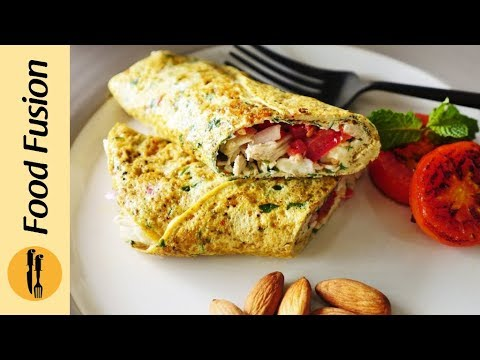 Healthy Cottage Cheese Omelette 2 Ways Recipe By Food Fusion Youtube