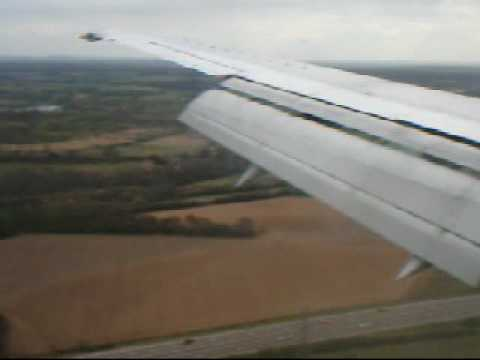Landing at Coventry Airport