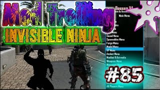 "Black ops 2 Mod Trolling #85 ""Invisible Ninja"""