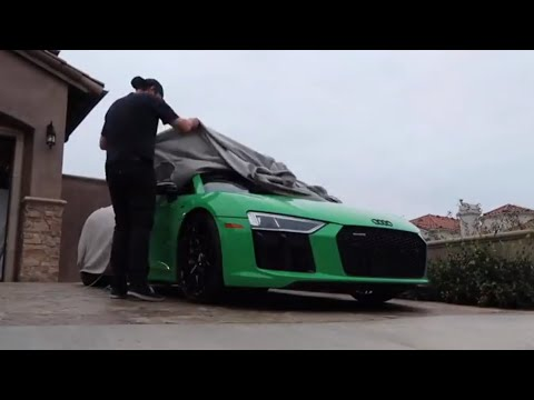 FINALLY taking out the Audi R8 V10+ again! First Official Vlog!