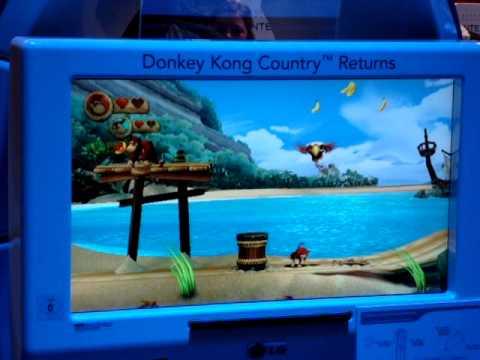 Donkey Kong Country Returns - Gamescom 2010 gameplay