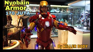 I AM IRONMAN! JUST FLY TO THE OFFICE! HAHAA..170 MILLION ARMOR IRONMAN WORN ON MY BODY!!!!