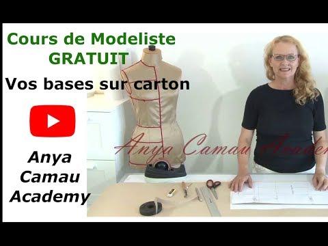 Cours GRATUIT de modéliste, Anya Camau Academy, Reporter vot