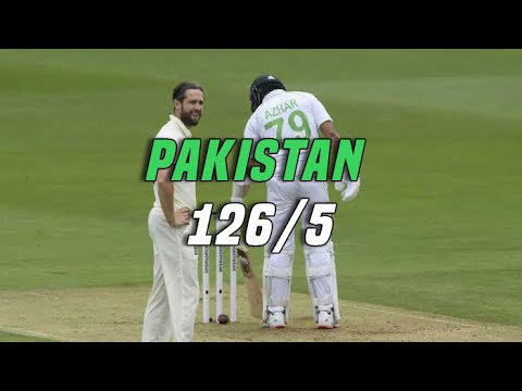 Pakistan 5 down just 126.  Eng vs Pak   Day one 2nd test  YahyaHussaini  
