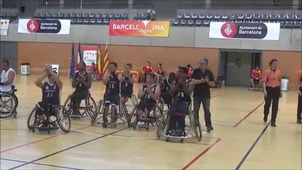 Video resum del 22 trofeu internacional ciutat de barcelona de b squet femen en cadira de - Cadira barcelona ...