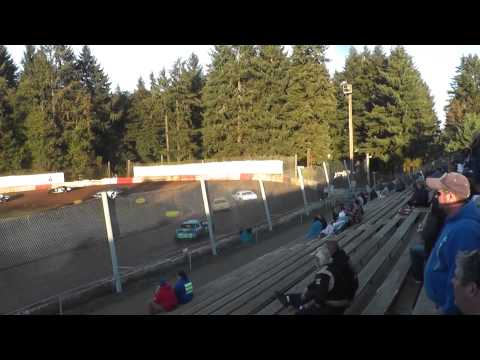 Street stock/sportsman main event #1 on 9/27/2014 at River city speedway