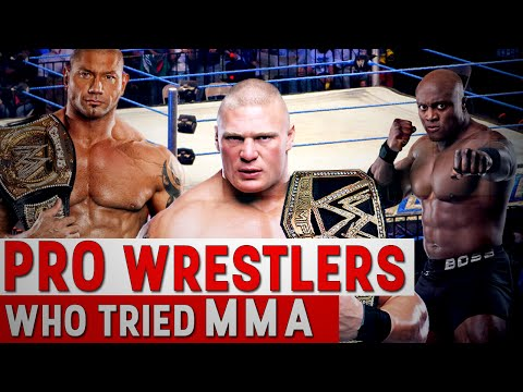 Pro Wrestlers Who Tried MMA
