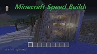 Minecraft Cave House Speed  Build!