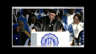 Watch Chance the Rapper Praise Beyonce in Dillard University Commencement Speech