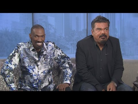 George Lopez and Charlie Murphy  on Good Day LA