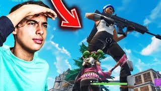 "This ""HACKER"" turns into ""GÉANT"" in the middle of a fortnite party, here's what happened..."