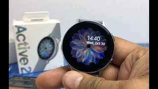 Samsung Galaxy Watch Active 2 India Unboxing And Hands On Review